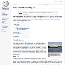 Alcoa Power Generating Inc. - Wiki