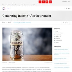 Generating Income After Retirement