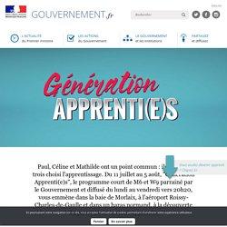Génération apprenti(e)s: vidéos témoignages d'apprentis