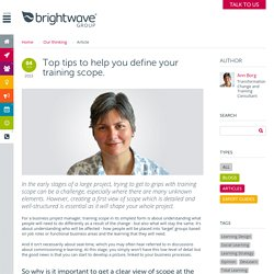 Next generation learning - insight and resources from Brightwave