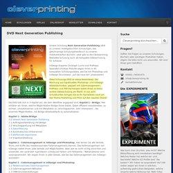 DVD Next Generation Publishing › Cleverprinting