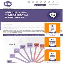 Génération de leads: acquérir de nouveaux prospects en ligne