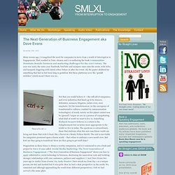 SMLXL - Engagement Marketing and Communication principles from Alan Moore