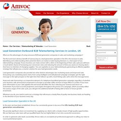 Lead Generation B2B Companies in London, UK - Amvoc Ltd.