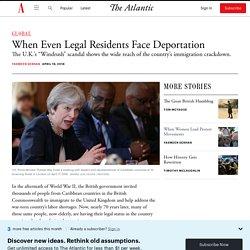 The Windrush Generation Faces Deportation