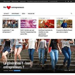 La génération Y : tous entrepreneurs ?