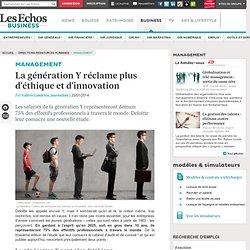 La génération Y réclame plus d'éthique et d'innovation aux entreprises