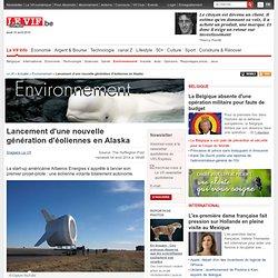 Lancement d'une nouvelle génération d'éoliennes en Alaska - Environnement