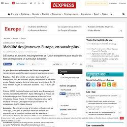 Génération Erasmus : Mobilité des jeunes, en savoir plus