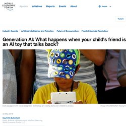 Generation AI: What happens when your child's friend is an AI toy that talks back?