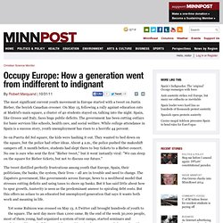Occupy Europe: How a generation went from indifferent to indignant