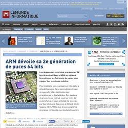 ARM dévoile sa 2e génération de puces 64 bits