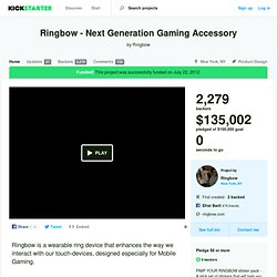 Ringbow - Next Generation Gaming Accessory by Ringbow