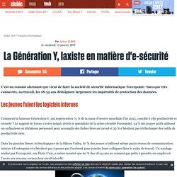 La Génération Y, laxiste en matière d'e-sécurité