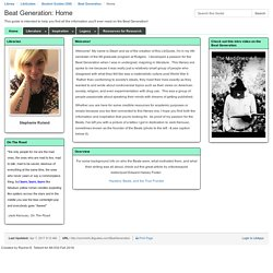 Stephanie's Beat Generation LibGuide