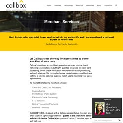 Lead Generation for Merchant