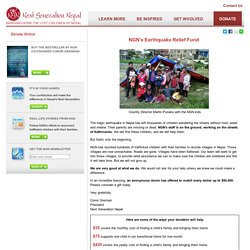 Next Generation Nepal - Donate Online