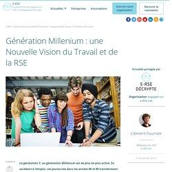 Génération Y : une nouvelle vision du travail et de la RSE