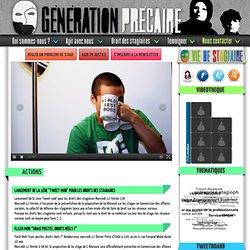 GENERATION PRECAIRE, mouvement pour la réforme des stages