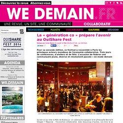 La « génération co » prépare l'avenir au OuiShare Fest