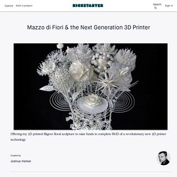 Mazzo di Fiori & the Next Generation 3D Printer by Joshua Harker