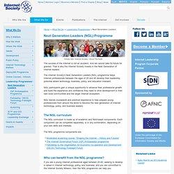 Internet Society - Los líderes de Internet