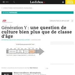 Génération Y : une question de culture bien plus que de classe d'âge, Partenaire