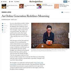 an-online-generation-redefines-mourning