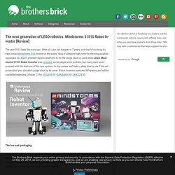 The next generation of LEGO robotics: Mindstorms 51515 Robot Inventor [Review]