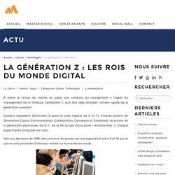 La génération Z : les rois du monde digital