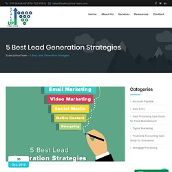 5 Best Lead Generation Strategies