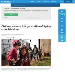 Civil war makes a lost generation of Syrian schoolchildren