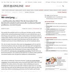 Generation Y: Wir sind jung … - ZEIT ONLINE mobil