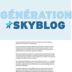 Génération Skyblog