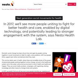 Next generation social movements for health