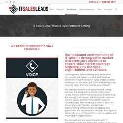 Lead Generation for Technology Companies - IT Leads