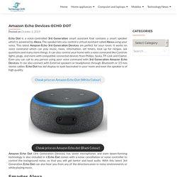 Amazon 3rd Generation Echo Dot-Alexa - Technologydrift