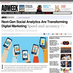 Next-Generation Social Analytics Are Transforming Digital Marketing