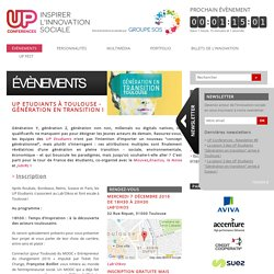 UP conférence - innovation sociale