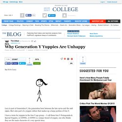 Why Generation Y Yuppies Are Unhappy