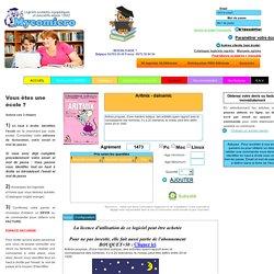 Descriptif du logiciel ou livre - pour acheter les livres et les logiciels de Génération5 ClubPom logiciels Adeprio Happy Neurone Créasoft Gerip Informatique Education Motus Noldus