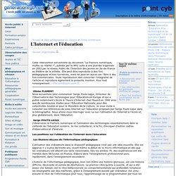 L'Internet et l'éducation