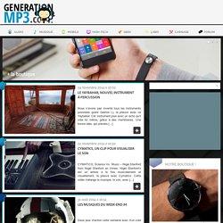 Musique - GenerationMP3 - Webzine audiophile, high-tech & lifestyle de référence