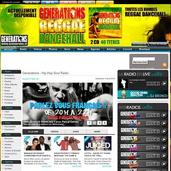 Generations - Hip Hop Soul Radio (Rap US)