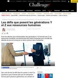 Les défis que posent les générations Y et Z aux ressources humaines - 12 mai 2016