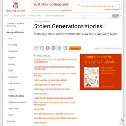 Stolen Generations stories - Creative Spirits