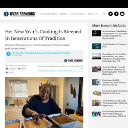 Her New Year's Cooking Is Steeped In Generations Of Tradition