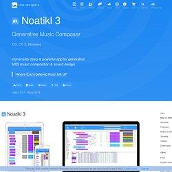 Software for iOS, iPad, iPhone, Mac, OS X, Windows, VSTi, AUi, Plugin