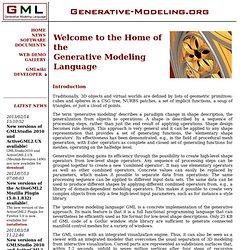 Generative Modeling