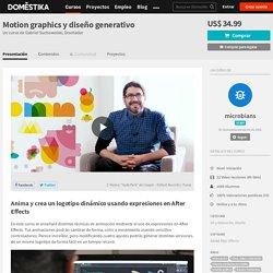 Motion graphics y diseño generativo